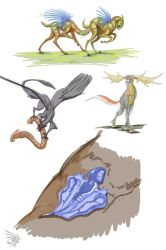 2013 Fast Critter Sketches 02 by calger459