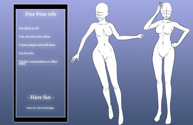 (Free 2 Use ) Poses ref by CherrysDesigns