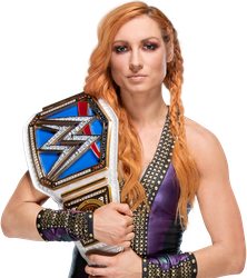 Becky Lynch SmackDown Women's Champion png 2018 HD by LunaticAhlawy