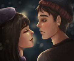 Stan and Wendy by roerow