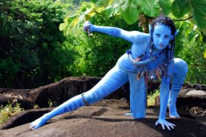 Neytiri cosplay by Official-AmyFantasy