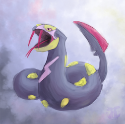 Seviper by wingedphantasy