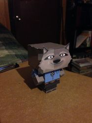 Wayne CubeeCraft by SuperVegeta71290