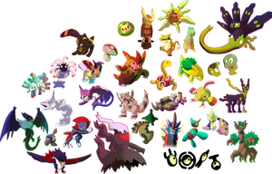 Daily Pokemon Doodles: October 2015 by DoctorNuclear