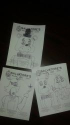 FNAF sketches by LongIslandMisfit