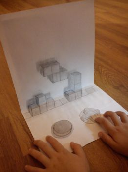 3D playing tetris by artgel