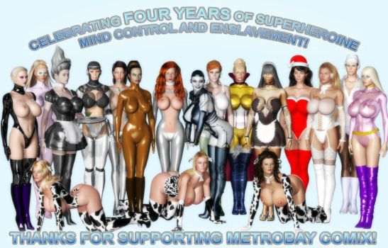 Metrobaycomix 4th Year Anniversary by finister