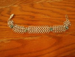 Euro Trapped Beaded Bracelet by Des804