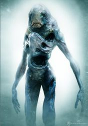 Un-used alien design for Falling Skies season 2. by Baizilla