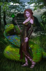 Fae and Viper by LillithI