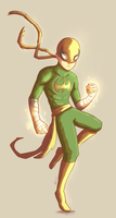 Iron Fist by Marcos-A-Rodrigues