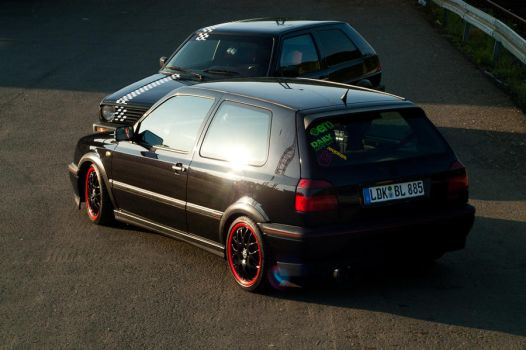 VW Golf 2 and 3 from above by eqL