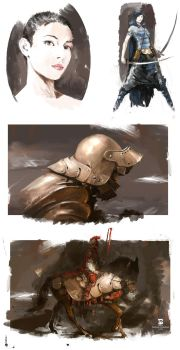 20150612 Misc Paintings by psdeluxe