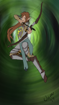 Bow Girl by BigEgg22