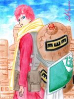 Gaara of the Sand by danielcamilo