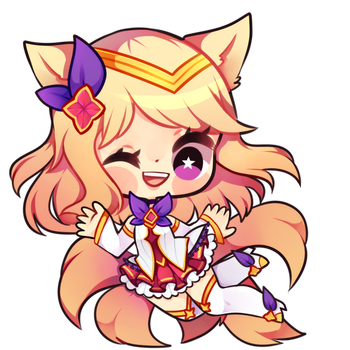 Star Guardian Ahri by Nelliette
