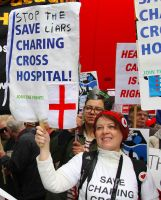 May 18th 2013 - Save the NHS: 5 by LouHartphotography