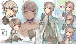 [CLOSED] Character-Page Adopt #001 by Hotaruin