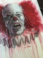 Pennywise by AlexRuizArt