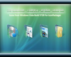 Windows Vista 5728 Icons by sreeejith