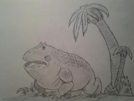 Cryptids for documentry: Killer African frog. by Trendorman