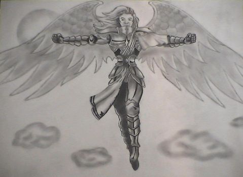 Angel Of Horizons by elven-jedi
