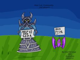 Say NO to SOPA and PIPA by Scykalion