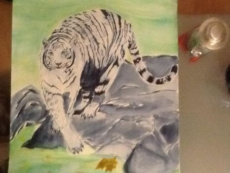 White tiger 6 by megumi16