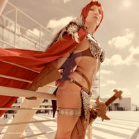 Red Sonja by Tatine