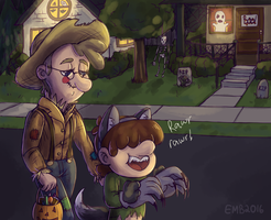 McGucket Halloween by AcidicGumdrops