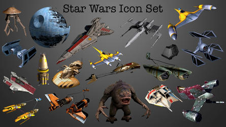 Star Wars Icon Set by Marclicious