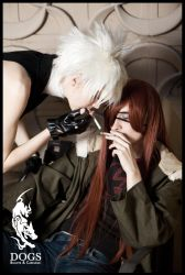 Haine and Badou by TheSinisterLove