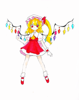 Touhou~Flandre Scarlet by dream-thunder