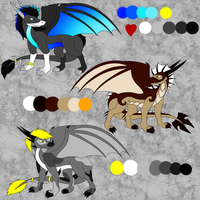 Dragon Adopt Batch 1 -open- by DRD-FunTime