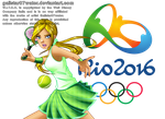 Cornelia at the 2016 Rio de Jeinaro Olympics by Galistar07water