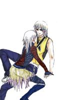 Riku and Replica... help me? by Zairal