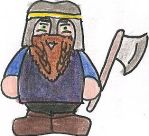 Gimli Cartoon by deviant-rohain