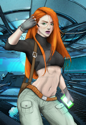 Kim Possible by Milk00001 by Ryan-Butler