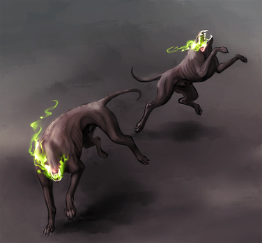 Some Proper Yeth Hounds by plangkye