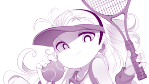 Tennis Day with Bell by jorama