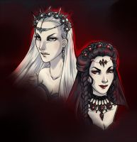 Ice and Darkness by fee-absinthe