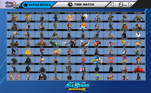 PlayStation All-Stars Round 2 ROSTER SCREEN by ScilacticonGalaxy