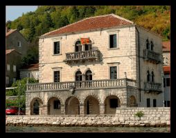 House On The Bay Of Kotor - Perast City by skarzynscy