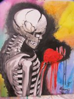 My bleeding heart by RUN-StreetArt