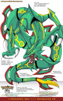 L'Pokedex 384 - Rayquaza FR by Pokemon-FR