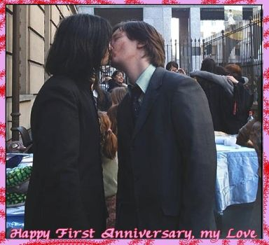 Happy 1' Anniversary, my Love by professorSnape