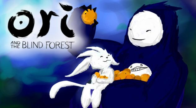 Cry Plays: Ori and The Blind Forest by ms-wabbit