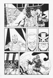 Judge Dredd: Interrogation 5 by AaronSmurfMurphy