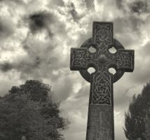 Olde Worlde Celtic Cross by BusterBrownBB