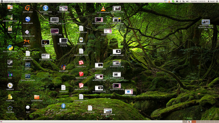 Screenshot featuring background from Japan by golem1